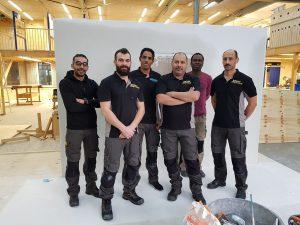 Deelnemers leerwerktraject najaar 2018 Bouw- en Installatiemensen Bussum